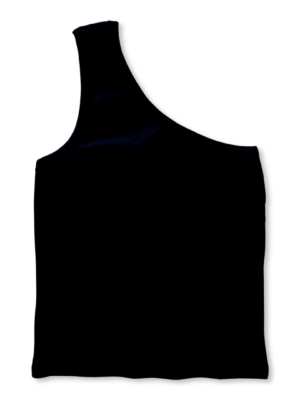 one shoulder top object luca
